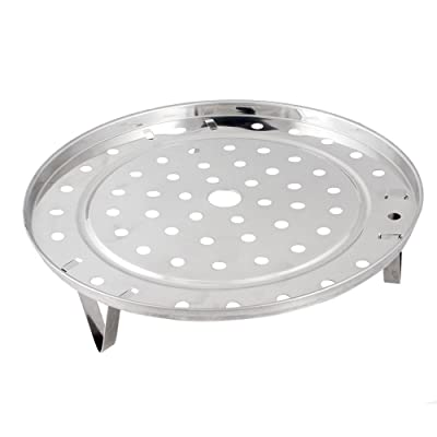 1 X Stainless Steel Steaming Steamer Rack 8.5 Inch Diameter