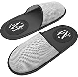 MT Premium Spa/Hotel Slippers - Mens Women Luxury Travel Hotel Nonslip Neoprene Sandals - Unisex - One Size Fits Most - Reusable Lightweight Portable Foldable