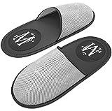 MT Premium Spa/Hotel Slippers - Mens Women Luxury Travel Hotel Nonslip Neoprene Sandals - Unisex - One Size Fits Most - Reusable Lightweight Portable Foldable