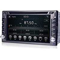 Navihouse GPS Navigation Car in Dash DVD Player 6.2 Touchscreen Radio Stereo Universal Double DIN Bluetooth Headunit