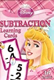 Disney Princess Subtraction Learning/Flash Cards (Lite Pink Box)