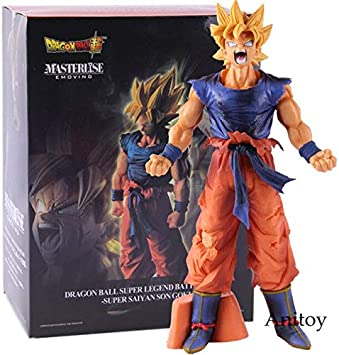 Romantic-Z Figura de acción de Anime Dragonball Dragon Ball Super Saiyan Son Goku Gokou Legend Battle Collectible Model Toy Gift, A con Caja al por Menor: Amazon.es: Juguetes y juegos