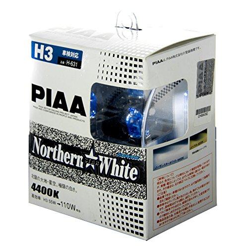 Piaa Powersports H3 Star (PIAA halogen bulb [Northern Star White 4400K] H3 12V55W 2 pieces H-631)