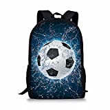 CHAQLIN Stylish Water Soccer Sport Men Backpack Polyester Durable Boys Schoolbag