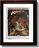 Framed Raiders of The Lost Ark Autograph Replica Print - Cast Signed