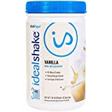IdealShake, Meal Replacement Shake, Vanilla, w/Hunger Blocker, 30 Servings