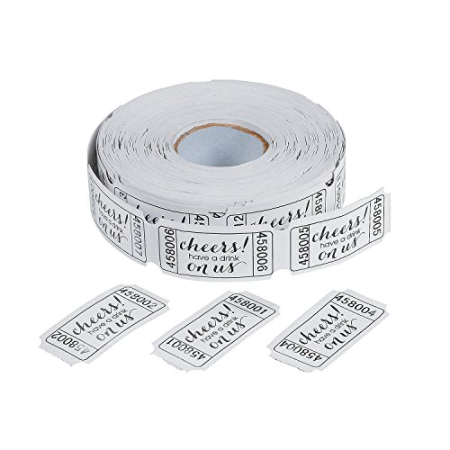 Drink Ticket Roll for $<!--$6.59-->