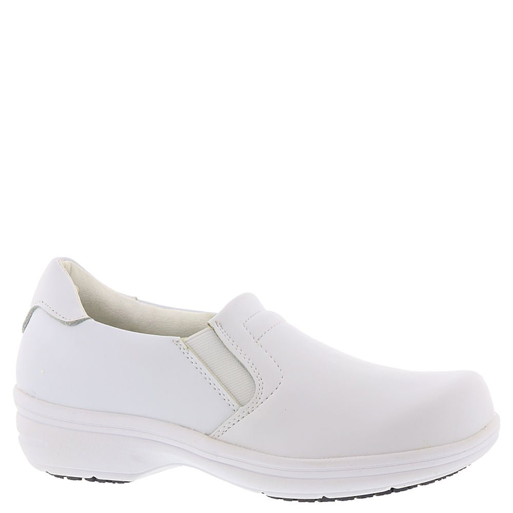 Easy Works Women's Bind Health Care Professional Shoe, White, 6 M US