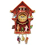 Disney The Muppet Show LED Lighted Cuckoo Clock by The Bradford Exchange