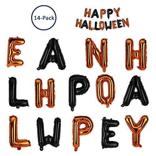 Happy Halloween Balloon - Ambithou Halloween Foil Letter