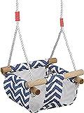 COMINGFIT® 60kgまで荷重 ブランコ 背もたれ付き キッズ・子供用 0-3歳の子供適用
