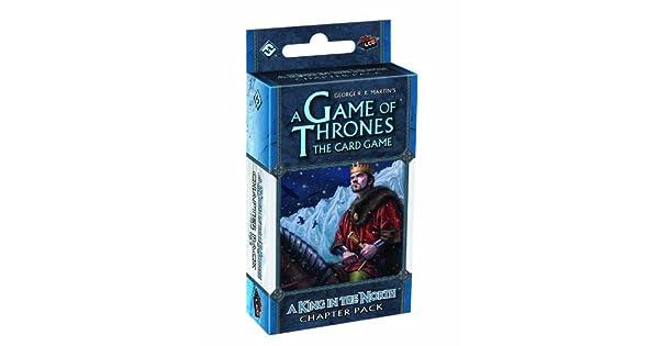 Amazon.com: Un Juego de Tronos LCG: Un Rey en el norte ...