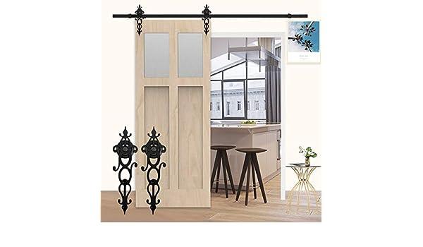 K-Home - Armario para puerta corredera de armario para puerta individual: Amazon.es: Bricolaje y herramientas