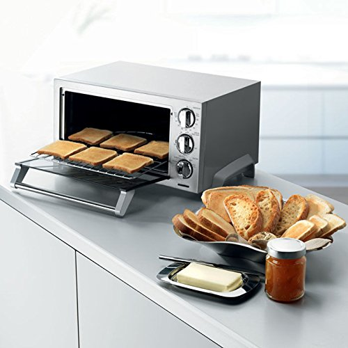 DeLonghi EO1270 6-Slice Convection Toaster Oven, Stainless Steel (Delonghi Toaster Ovens compare prices)