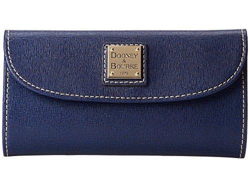 Dooney & Bourke Marine Saffiano Leather Continental Clutch Wallet