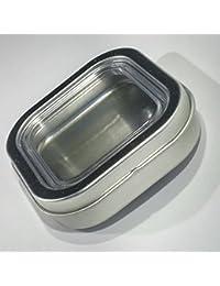 Favor 2 oz. Bravada Square Non-Magnetic Spice Tins - Set of 12 compare