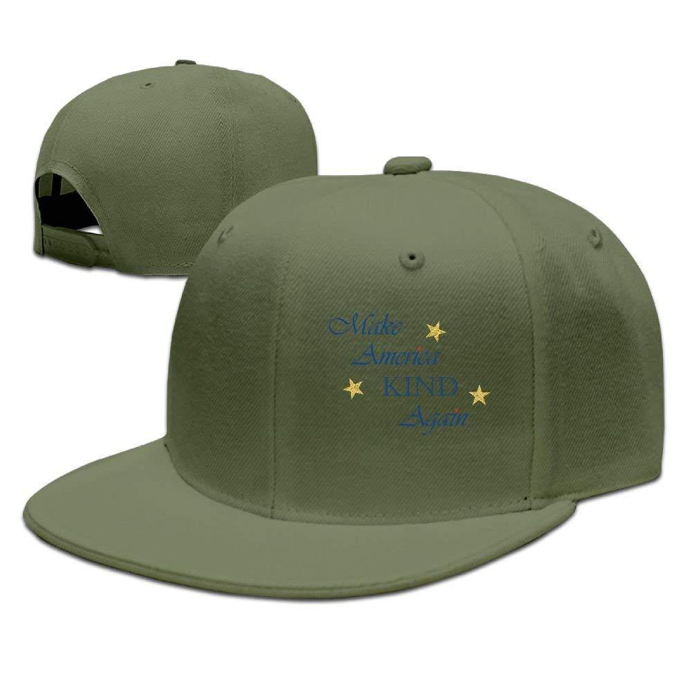 errterfte Make America Kind Again Cap Flat-Along Snapback Hat ...