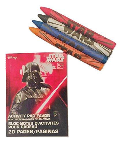 Designware Star Wars Mini Coloring Book with Crayons