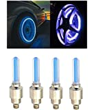 AutoStark Blue Car Tyre Led Light With Motion Sensor Set of 4 For Ford Fiesta Classic