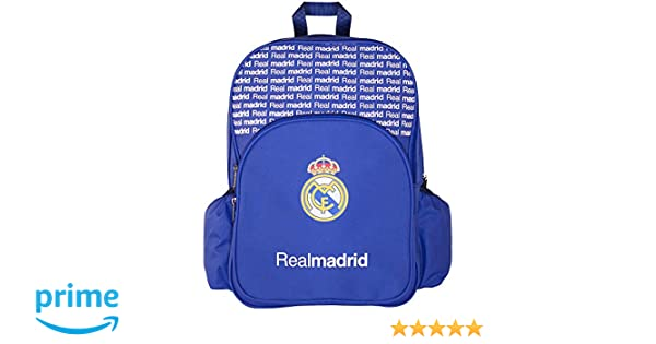 Amazon.com : Official Real Madrid Backpack - Multiple Compartment Style : Sports & Outdoors