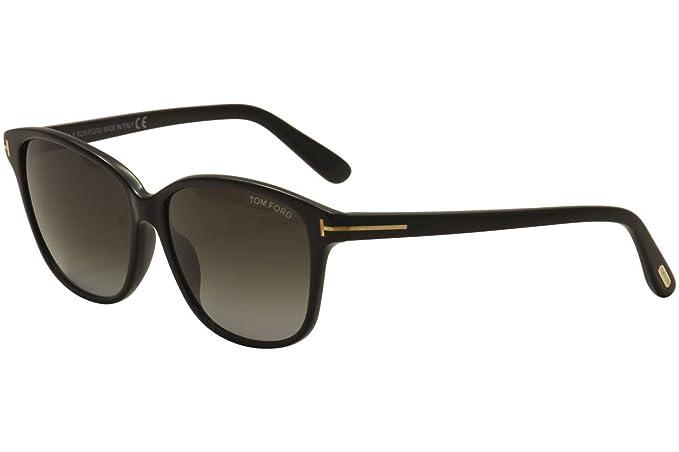 d18c2bbb434c0 Tom Ford Dana FT0432 01B 59 Sunglasses  Amazon.co.uk  Clothing