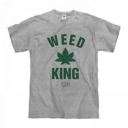 Matching Weed King guy: Unisex Fruit of the Loom Midweight (Hippie Outfits For Guys)