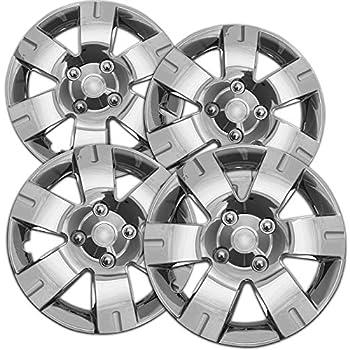 Amazon.com: Tapa cubos para cubiertas de rueda de plata ...