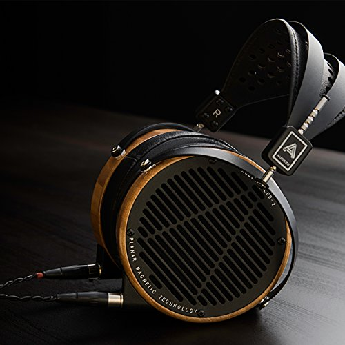 LCD2 Over Ear | Open Back Headphone | Bamboo Wood Rings | Leather