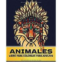 animales Libro para colorear para adultos.: mandala Libro