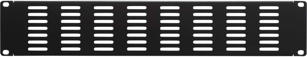 NavePoint 3U Blank Rack Mount Panel IT Server Network Spacer Slotted Venting