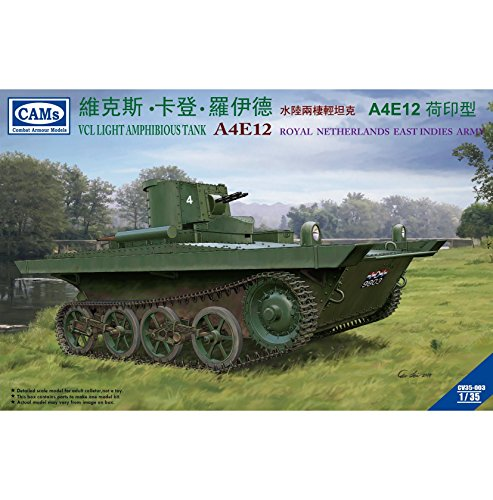 Riich Models 1/35 VCL Light Amphibious Tank A4E12 Knil Version Model Kit