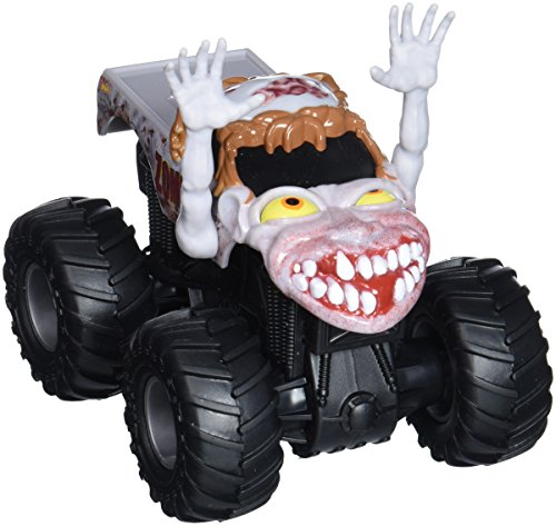 Hot Wheels Monster Jam Rev Tredz Zombie Vehicle (1:43 Scale) (Zombie Wheels)