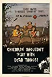 Children Shouldn't Play With Dead Things Poster Movie 11x17 Alan Ormsby Valerie Mamches Jeff Gillen