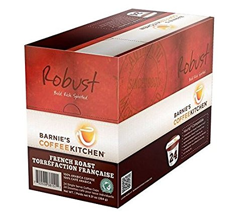 Barnie's Coffee Kitchen, French Roast Kcup Coffee 96 Count Case
