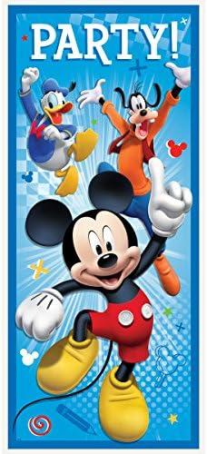 Amazon.com: Decoraciones De Pared Mickey Mouse Para Fiestas ...