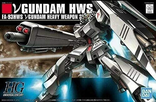 Amazon Com Bandai Spirits Hguc Mobile Suit Gundam Char S Counter Attack N Gundam Heavy Weapon System Equipped 1 144 Scale Color Coded Pre Plastic Model Toys Games
