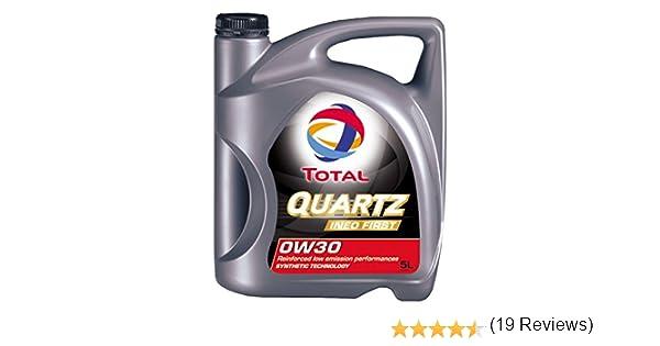 Total Quartz Ineo Primera 0 W-30 Totalmente sintético Low SAPS Coche Aceite de Motor, 5 L