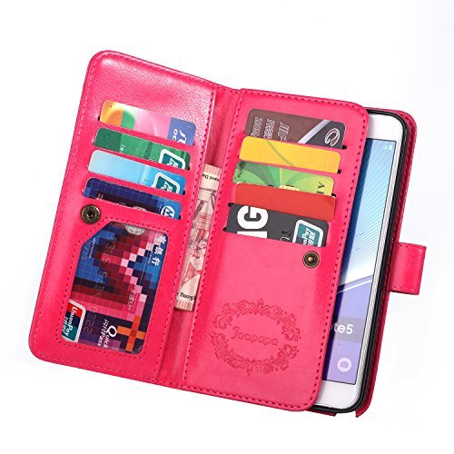 Note 5 Case, Galaxy Note 5 Case, Joopapa Galaxy Note 5 Wallet Case,Pu...