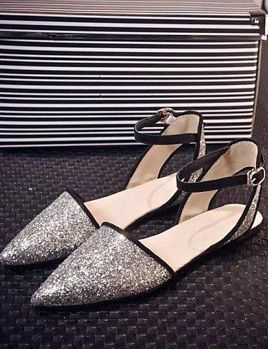 Black Flat Heel Office Brown Flops Flip Outdoor Shoes Sandals Women's Dress amp; Comfort White golden ShangYi Career qEpzOtn