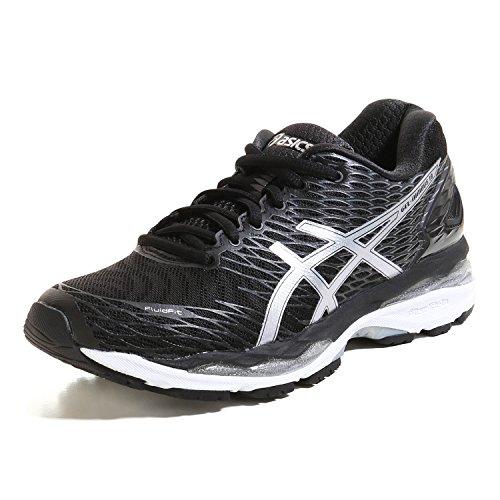Asics Gel-Nimbus 18, Chaussures de Running Compétition Femme Black
