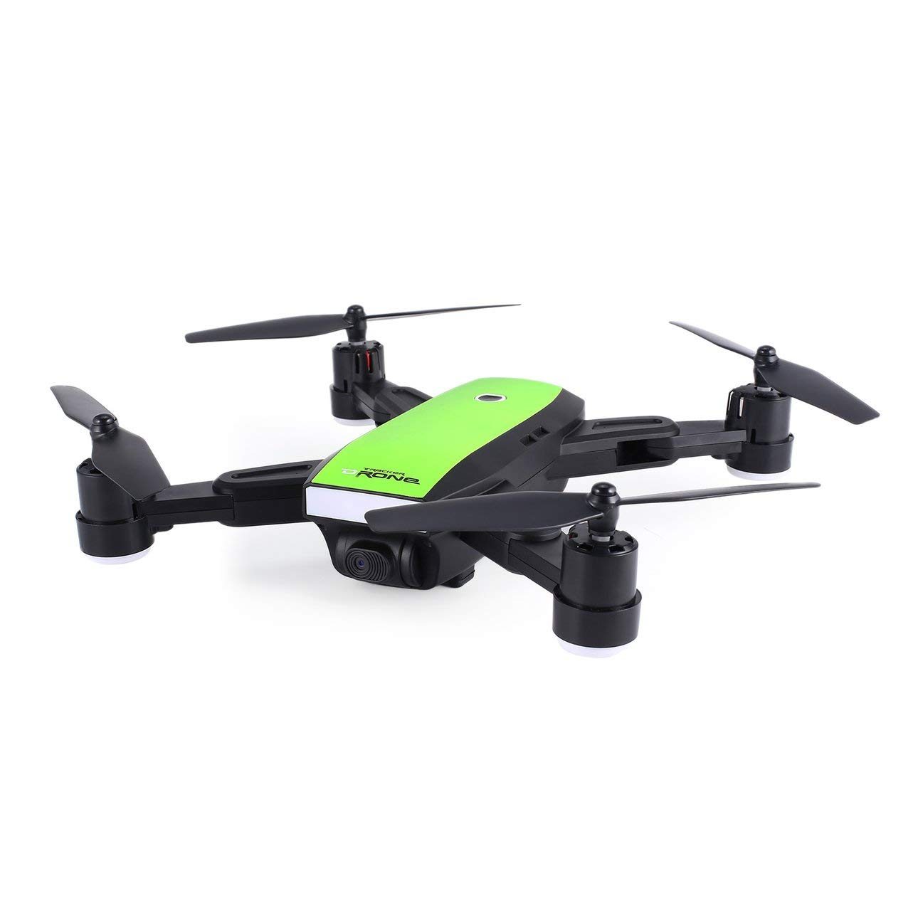 Ballylelly X28 2.4G FPV Pieghevole Drone Smart RC Quadcopter con Telecamera WiFi Regolabile in Tempo Reale Altitude Hold modalità Headless (verde)