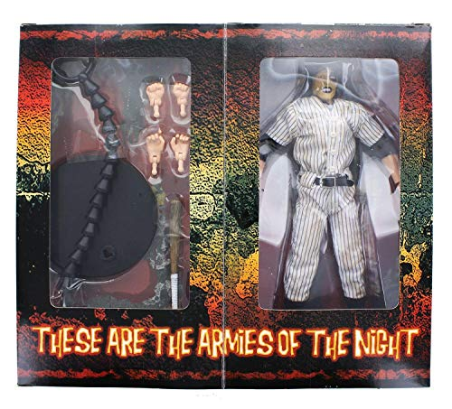 Mezco Toyz Warriors 9 Inch Deluxe Series 1 Cloth Outfit Figure Baseball Fury -