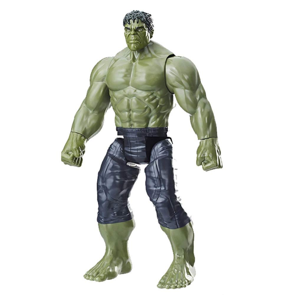 SSRS Marvel Avengers 3 Infinite War Hulk action figure, joints can be active