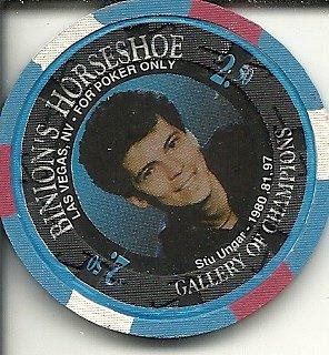 $2.50 binion's horseshoe stu engar poker las vegas casino chip vintage
