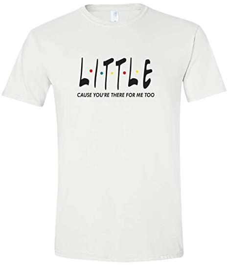 534ebeb75 Big, Little ' Greek Sorority Friends Matching Soft Style Shirt (Little, X