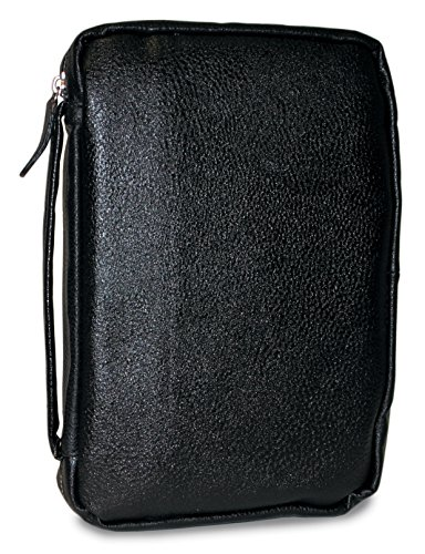 Divinity Boutique Bible Cover Leather Midnight Black, XXL...