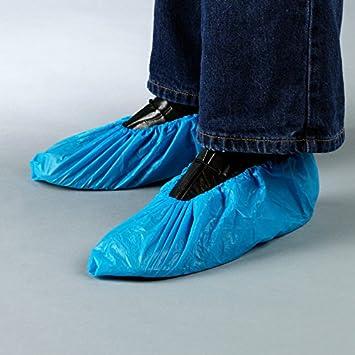 starnearby Überschuhe Überziehschuhe Plastik Schuhüberzieher 100 Stück Einw ♞