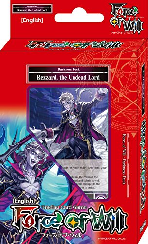 Force Of Will Rezzard The Undead Lord (Dark) FOW Alice Cluster Twilight Wanderer Starter Deck - 51 Cards from Force Of Will