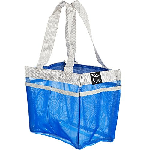 Shower Caddy Portable Bathroom Hanging Mesh Bag Storage Bag - 5