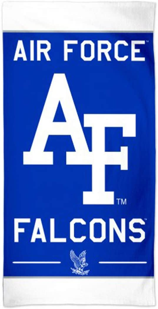 WinCraft Air Force Falcons Towel with Premium Spectra Graphics 30 x 60 inches